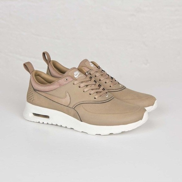 nike air max thea mens brown desert leather piemium